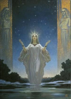 Астарта е древна финикийска велика богиня на плодородието, майчинството, чувствената любов и войната