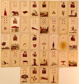 гледане на карти таро ленорман карта на седмицата 03