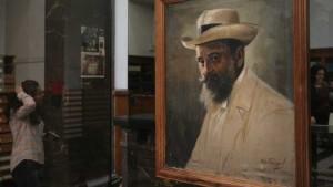 пенчо славейков портрет изложба в народната библиотека
