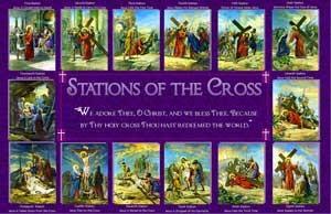станциите на Христос по пътя към Голгота