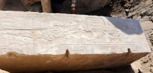 Учени са открили древен артефакт - камък, който изобразява първата жена фараон на древен Египет Хатшепсут.