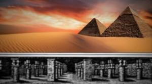 Със специален радар проникващ под земята са открити подземни кухини съответстващи на описанието на невероятния подземен град под пирамидите в Гиза.