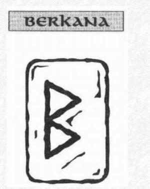 Значение на отделните руни - Berkana