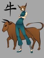 Китайски зодии бик, крава, китайски хороскоп