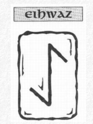 Значение на отделните руни - Eihwaz