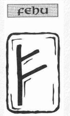 Значение на отделните руни - Fehu