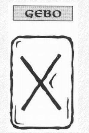 Значение на отделните руни - Gebo