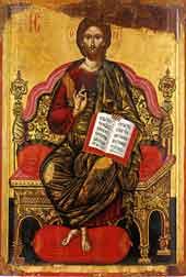 Исус на престола