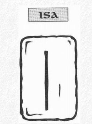Значение на отделните руни - Isa