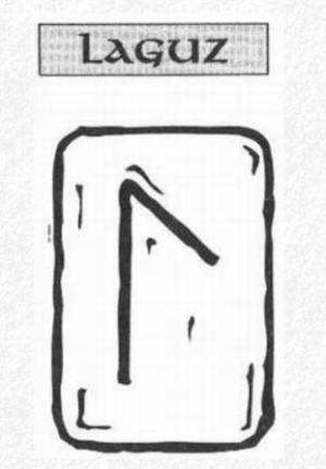 Значение на отделните руни - Laguz