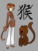 Китайски зодии, маймуна