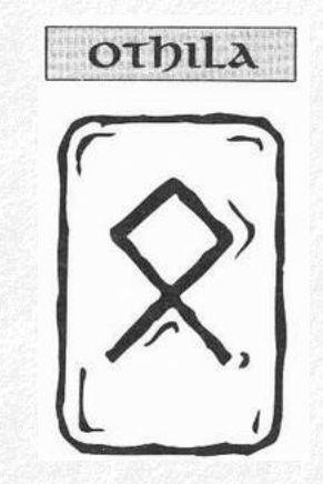 Значение на отделните руни - Othila
