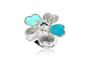 Дамски пръстен с детелинка за късмет