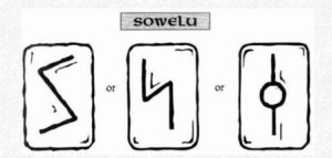 Значение на отделните руни - Sowelu