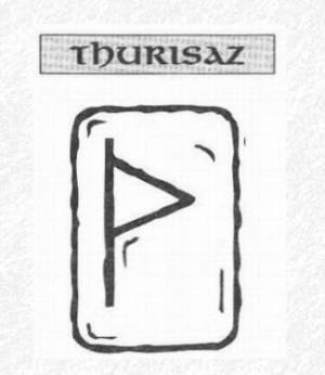 Значение на отделните руни - Thurisaz