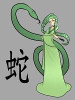 Китайски зодии, змия