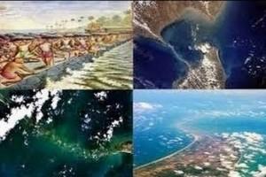 НАСА заснела мистериозна структура в океана свързана с индуската митология