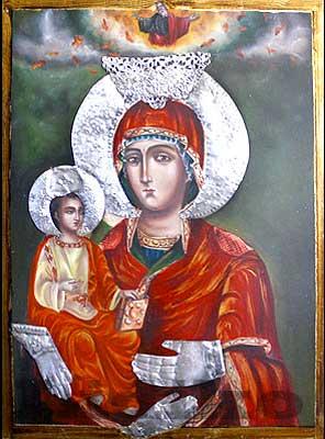 Богородица Троеручица в Троянски манастир - 01