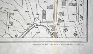по-съвременно копие, пресъздаване на деветата карта на Птолемей, Свещари, Сборяново
