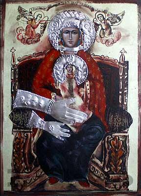 Арбанаси плачеща чудотворна икона