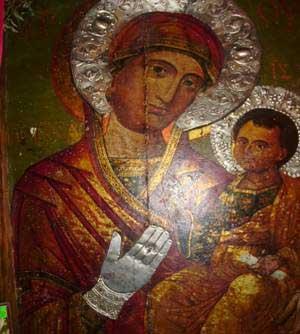 чудотворна икона в Свети Никола