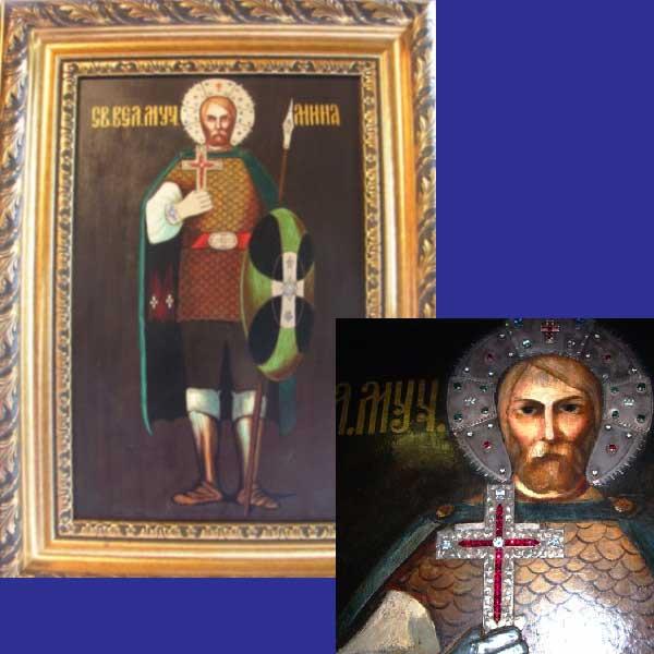 Свети Мина, Обрадовски манастир 01