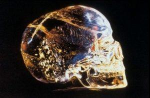 Един от кристалните черепи открит от Ф. А. Мичъл-Хеджис през 1927 г.