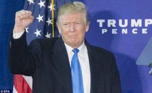 Президентът Доналд Тръмп няма да встъпи в длъжност, докато не положи клетва на 20 януари 2017 г.