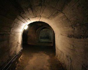 Подземни тунели в Зноймо.