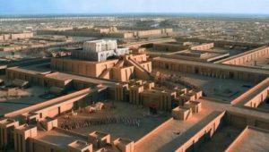 Урук – главен шумерски град по времето на крал Гилгамеш.