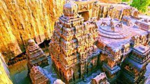 Загадката на индийския храм Кайлаш остава неразгадана и до днес.