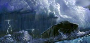 Ковчегът (корабът) на Ной и големия библейски потоп.