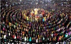 В Индия се празнува празник на женското божество Шакти, статуята, на която е много подобна на тази на Нашата Дама от Фатима.