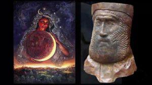 Ищар и Нимрод – човешки същества, самозвани езически богове с измислена религия.