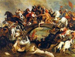 Битка на амазонките – художник Петер Пол Рубенс.