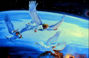 Вестите на ангелите от Откровение 14 глава стихове от 6 до 12 са вести на Божията милост и ни предупреждават от измамите.