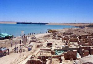 Разкопки на древния мозаечен град Зеугма.