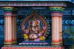 Индийски митологичен бог Ганеша.