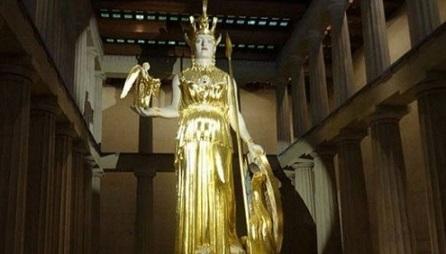 Богиня на войнат Атина Палада, богиня на мъдростта