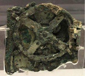 Фрагмент от механизма на Антикитера.