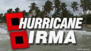 Опустошенията на урагана Ирма