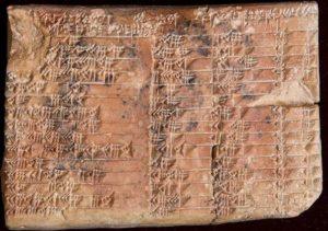 Древен артефакт разкрива, че може би вавилонските учени са направили математическо откритие.
