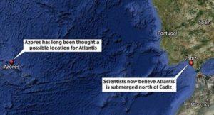 Разкопките в търсене на мегаполиса на Атлантида са близо до град Кардиз в Испания.