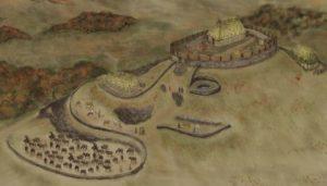 Ето как според художник би могло да изглежда селището на кралство Рейгед.