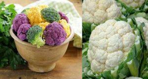 Карфиолът е типичен зеленчук на студения сезон, въпреки че на пазара се среща обикновено и през цялата година