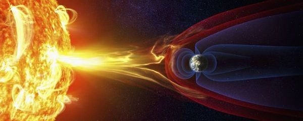 Земното магнитно поле предпазва Земята от слънчевите бури и космическата радиация