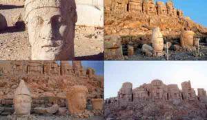 Планината Немрут станала пантеон на арменските богове, привлича с гробницата на цар Антиох I и легендарната си история. Там е бил убит и библейския герой Нимрод.