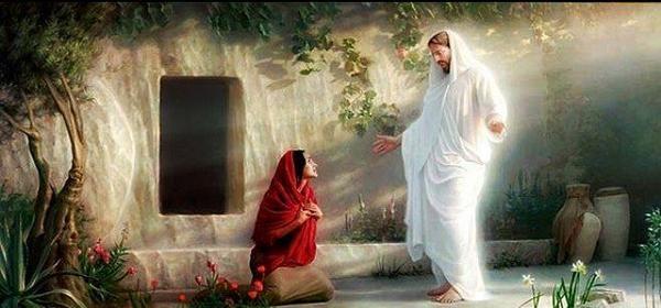 Мария Магдалина отива на гроба и вижда, че гробът е празен
