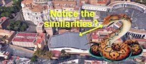 Сатанизъм във Ватикана – страховита снимка на залата за аудиенции