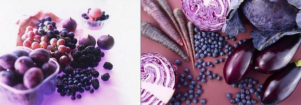 Пурпурни плодове и зеленчуци – полезни свойства и хранителни качества